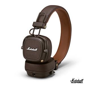 英國Marshall Major III  無線藍牙耳罩式耳機~復古棕