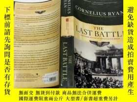 二手書博民逛書店Last罕見Battle:The Classic History of the Battle for Berlin