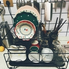 廚房置物架 雙層碗碟架瀝水架單層碗筷餐具收納盒放碗碟盤子置物架臺面YYJ(快速出貨)