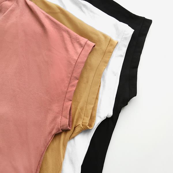 MIUSTAR 正韓‧休閒領V型細肩鏤空棉質上衣(共4色)【NF0965RE】預購