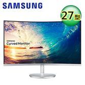 【SAMSUNG 三星】C27F591FDE 27型 VA曲面寬螢幕