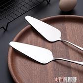 onlycook 2支裝不銹鋼蛋糕鏟 鏟刀 三角披薩鏟子烘培工具芝士切刀 交換禮物