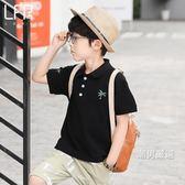一件免運-短袖polo衫童裝男童短袖POLO衫夏裝2018新品韓版兒童保羅衫中大童棉質T恤潮3色