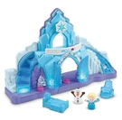 冰雪奇緣經典冰宮場景 多重機關及聲光效果 人物及家具可拆卸,單獨玩耍