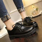 涼感新款英倫風軟妹小皮鞋女學生百搭二女原宿女鞋