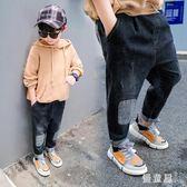 男童牛仔褲 秋裝2018新款兒童長褲小童休閒褲子寶寶3哈倫褲6歲潮 QG7244『優童屋』