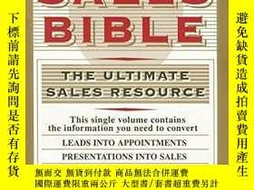 二手書博民逛書店The罕見Sales Bible [the Ultimate Sales Resource] By Jeffrey