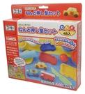日本益智玩具黏土玩車車模型組...