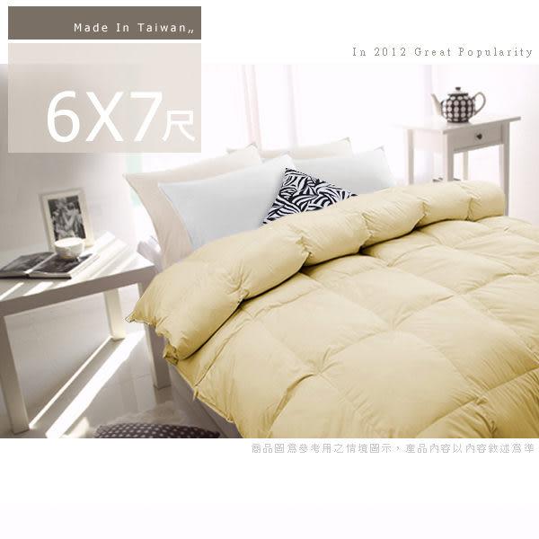 【安妮絲Annis】嚴選100%天然水鳥羽絨被雙人6X7尺(7色任選)/台灣製造/民宿飯店羽絲絨被