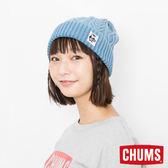 CHUMS 日本 風格針織帽 Indigo淺丹寧 CH051091N035