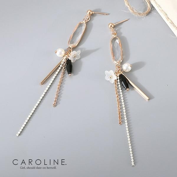 《Caroline》★韓國熱賣造型時尚浪漫風格,優雅性感耳環70103