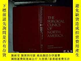 二手書博民逛書店the罕見surgucal clinics of north a