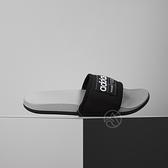 Adidas ADILETTE COMFORT 男 黑灰 運動 休閒 拖鞋 FZ1701