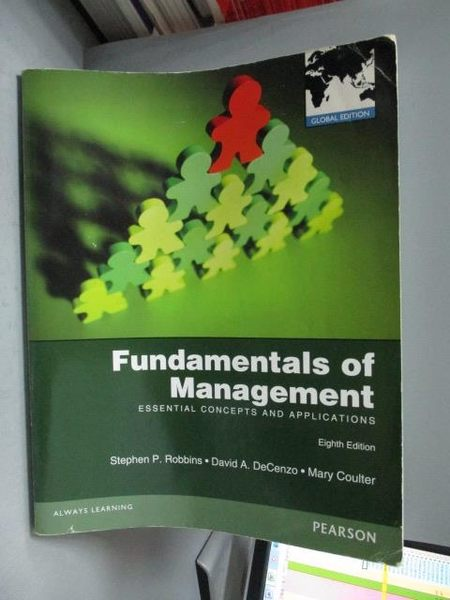 【書寶二手書T2/大學商學_YBC】Fundamentals of Management_Robbins