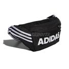 adidas 腰包 3-Stripes Waist Bag 黑 白 男女款 斜背包 運動休閒 【ACS】 FM6882
