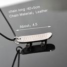 韓版滑板造型十字架項鍊