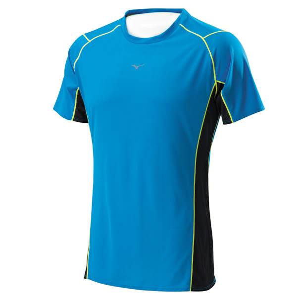Mizuno  奧運記錄高級昇華印刷設計 男路跑T恤 J2TA600421