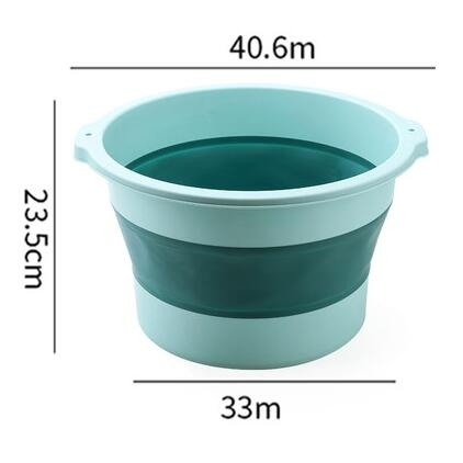 洗腳桶 泡腳桶可折疊過小腿洗腳盆足浴簡易款加高家用的養生懶人神器保溫【快速出貨八折鉅惠】
