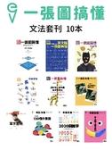一張圖搞懂套組:英文文法套刊(10本)
