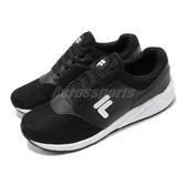 FILA 慢跑鞋 J315T 黑 白 基本款 運動鞋 黑白 休閒鞋 男鞋【PUMP306】 1J315T001