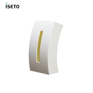 【nicegoods】日本ISETO Bow弧形雙面面紙盒 白
