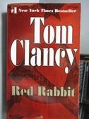 【書寶二手書T5/原文小說_ORF】Red Rabbit_Tom Clancy