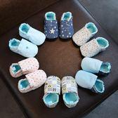 嬰兒鞋子6-12個月春秋透氣女寶寶學步鞋