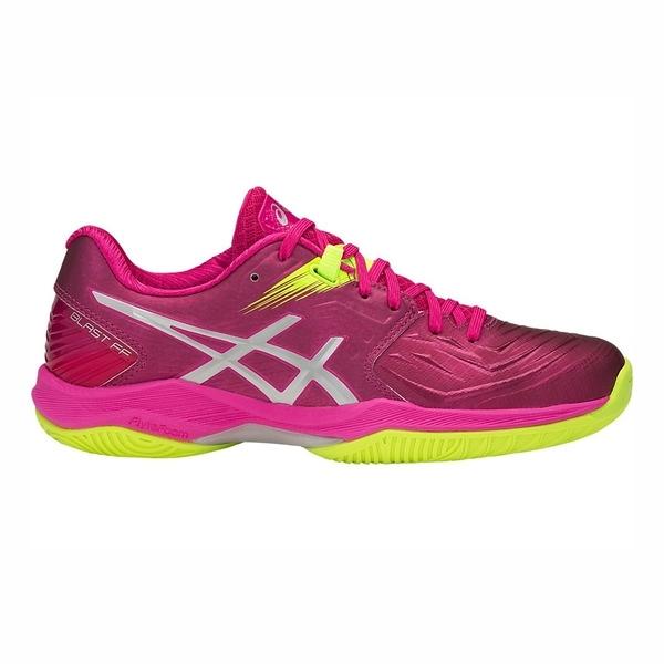 Asics Blast FF [1072A001-706] 女鞋 運動 排球 羽球 手球 耐磨 包覆 緩衝 亞瑟士 粉銀
