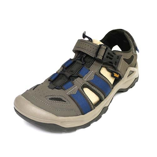 65折 Teva 男 M OMNIUM 2 輕量 包趾 水鞋 耐磨 水陸運動涼鞋 TV1019180BNGC 藍 橄欖綠[陽光樂活]