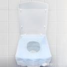藍加白防水一次性馬桶墊60片粘貼旅行旅游酒店坐墊紙孕產婦坐便墊 檸檬衣舍