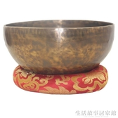 頌缽 尼泊爾手工純銅SPA音療缽佛音缽修行銅磬碗瑜伽用品擺件