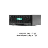 ●附原廠1TBx2●HPE Microserver Plus Gen10 非熱抽伺服器(P19752-371)【Intel E-2224 / 8GB / RAID 0.1.10.5】