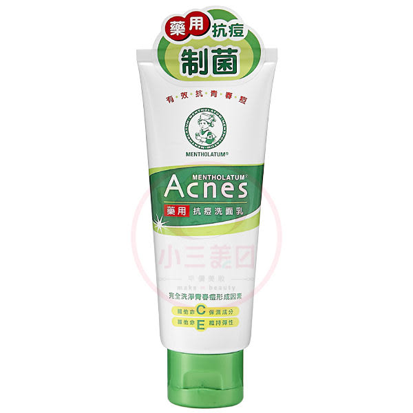 曼秀雷敦 Acnes 藥用抗痘洗面乳(100g)【小三美日】