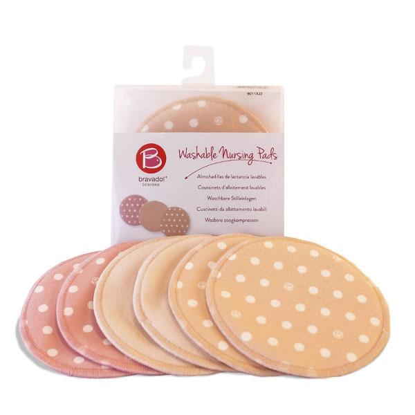 加拿大 Bravado 可清洗溢乳墊(3對裝)