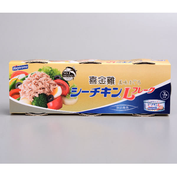 【Hagoromo】喜金雞鮪魚罐  70g*3入