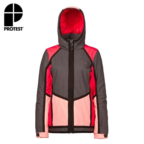 PROTEST 女 防水保暖外套 (粉紅櫻桃) STUNNING SNOWJACKET