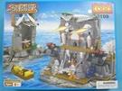 COGO 積高積木 3109 藏寶島積木 約510片/一盒入(促1000) 海盜系列 可與樂高混拼