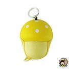 【收藏天地】台灣紀念品*supercute零錢包(3色)-蘑菇∕零錢包 卡包 鑰匙包 耳機包