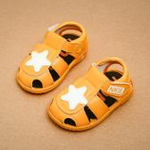 夏季1-2-3歲學步鞋嬰兒鞋男寶寶涼鞋 兒童鞋女寶寶鞋沙灘鞋叫叫鞋
