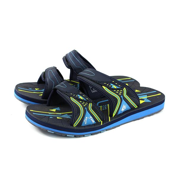 三帆(G.P副牌) 拖鞋 戶外 防水 水藍色 男鞋 S7490M-22 no354