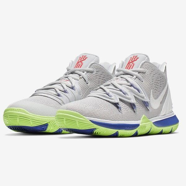 NIKE KYRIE 5 GS 女鞋 大童 籃球 Irving 避震 氣墊 灰 【運動世界】 AQ2456-099 | 籃球鞋 |