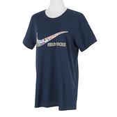 Nike Training Tee [561423419FH05] 女 短袖 T恤 運動 訓練 休閒 舒適 寬鬆 深藍