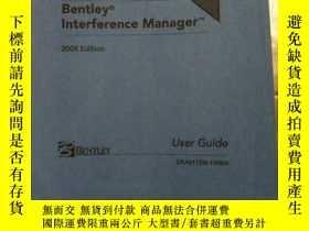二手書博民逛書店Bentley罕見Interference Manager 20