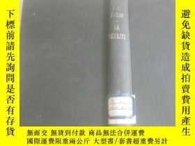 二手書博民逛書店民國外文原版罕見32開精裝本 外文簽名 la defaite 1