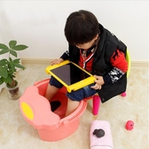 泡腳桶 兒童泡腳桶塑料加厚寶寶洗腳桶小號按摩足浴盆帶蓋保溫洗腳盆家用