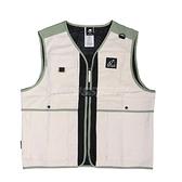 New Balance 背心 Multiple Pockets Gilet 卡其 綠 男款 工裝風格 多口袋設計 運動休閒【ACS】 MV11850TWF