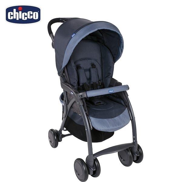 chicco-SimpliCity都會輕便推車風格版-印墨藍