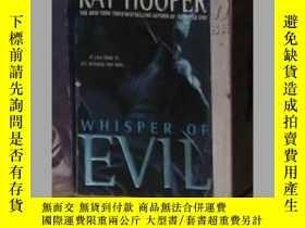 二手書博民逛書店英文原版《罕見Whisper of Evil 》Kay Hoop