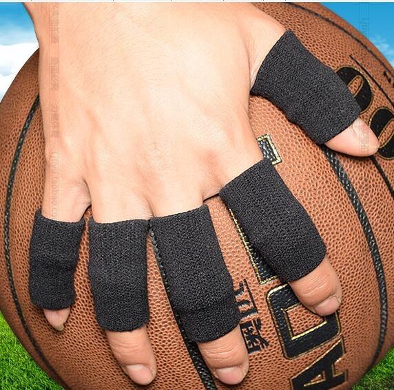 籃球護指套 籃球排球護指關節護指套運動護具防滑繃帶加長護手指【全館免運八折鉅惠】