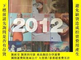 二手書博民逛書店廣告檔案2012年合訂本罕見平面電視廣告與海報 影視廣告 設計雜